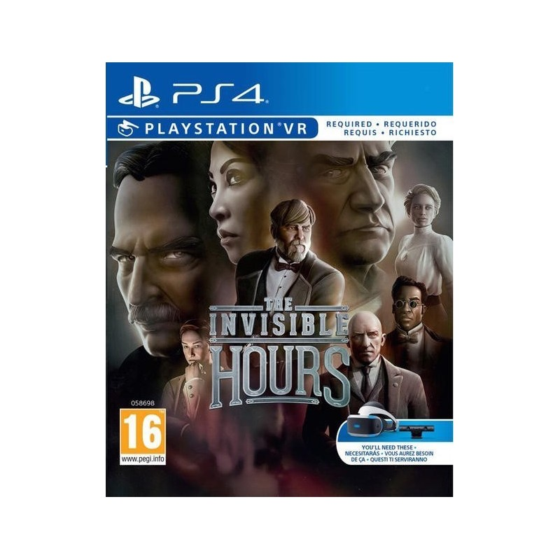 THE INVISIBLE HOURS VR nuovo per PLAYSTATION 4 PS4
