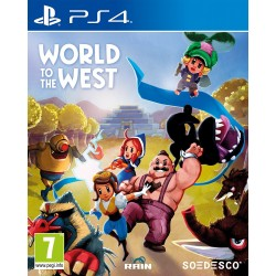Preordine 4 maggio 2017 WORLD OF THE WEST nuovo Playstation 4 PS4 italiano
