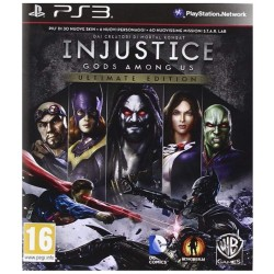 INJUSTICE GODS AMONG US ULTIMATE EDITION Playstation 3 PS3 italiano