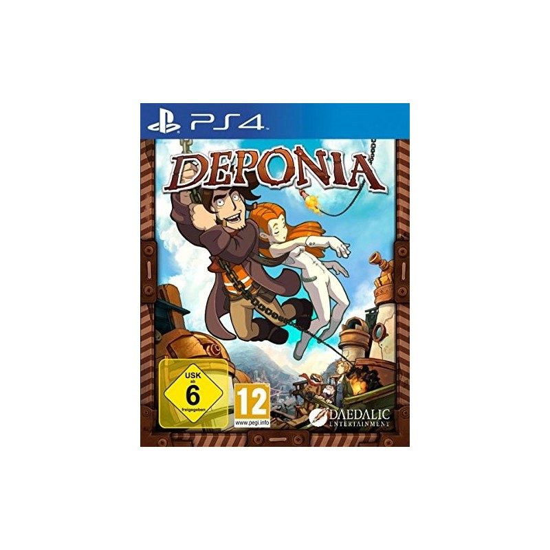 DEPONIA per Sony Playstation 4 PS4