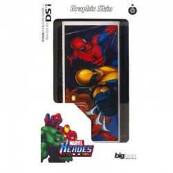 Graphic SKIN adesivo per Nintendo DSi MARVEL SPIDERMAN IRON MAN WOLVERINE