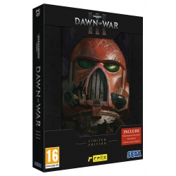 WARHAMMER 40.000 DAWN OF WAR III 3 LIMITED EDITION per PC nuovo