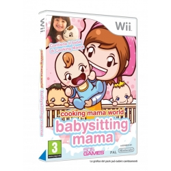 COOKING MAMA WORLD BABYSITTING MAMA + BAMBOLA per Nintendo Wii