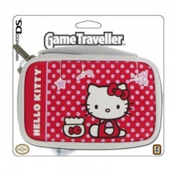 Custodia HELLO KITTY per Nintendo DSi Ds LITE originale astuccio