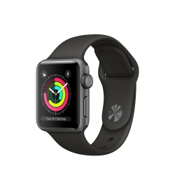 APPLE WATCH Series 3 smartwatch OLED GPS 38mm Space Gray (Nuovo Ex Demo) +Regali