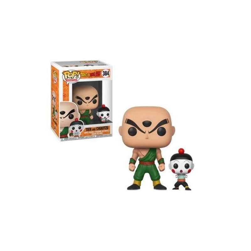 FUNKO POP! TENSING E RIFF Tien and Chiaotzu - Animation - Dragonball Z 384