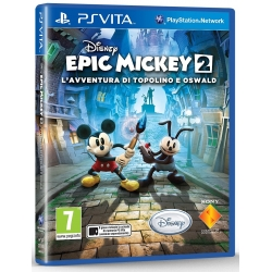 DISNEY EPIC MICKEY 2 per PSVITA garantito italiano PS Vita