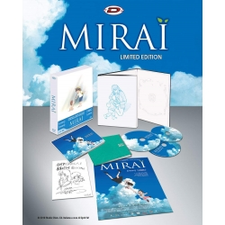 Preorder 24 aprile 2019 - MIRAI - Limited Edition Digipack Box 2 Blu-Ray+Dvd+2 Booklet+Card+Poster