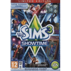THE SIMS 3 SHOWTIME (Expansion Pack) nuovo per PC italiano Espansione Limited Edition