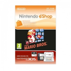 SUPER MARIO BROS - Codice di Download Gioco Completo per Nintendo 3DS 2DS