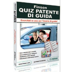 FINSON QUIZ PATENTE DI GUIDA - Software per Windows Originale