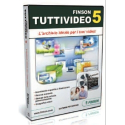 FINSON TUTTIVIDEO 5 - Software per Windows Originale