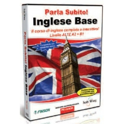 FINSON PARLA SUBITO INGLESE BASE - Software per Windows Originale