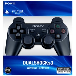 Controller ORIGINALE Sony Playstation 3 Dualshock Wireless PS3 Nero Usato DS3