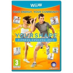 YOUR SHAPE FITNESS EVOLVED 2013 per Nintendo WiiU Usato Garantito WII U