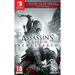 Preordine 21 maggio 2019 - ASSASSIN'S CREED 3 + LIBERATION Nintendo Switch