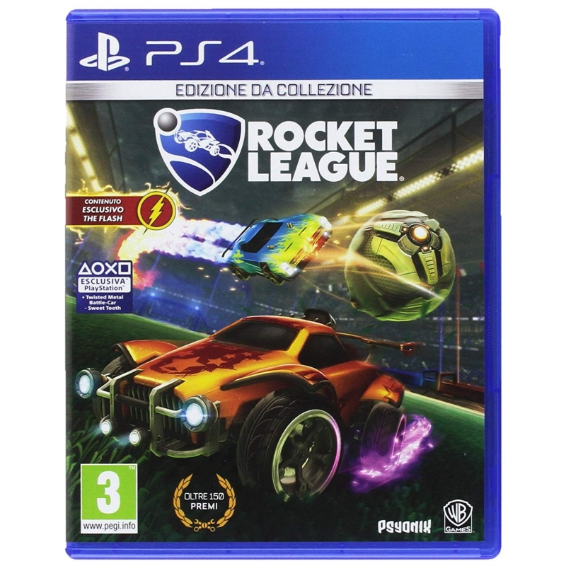 ROCKET LEAGUE Edizione da Playstation 4 PS4 + DLC + Macchina