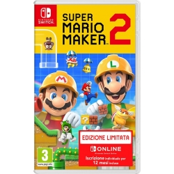 Preordine 19 giugno 2019 - SUPER MARIO MAKER 2 LIMITED EDITION Nintendo Switch