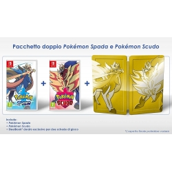 Preordine 15 novembre 2019 - POKEMON SCUDO e SPADA Dual Pack Limited Nintendo Switch