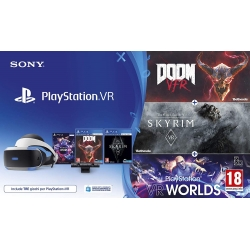 PLAYSTATION VR + TELECAMERA + GIOCO (Bundle Completo) nuovo PS4 Playstation 4
