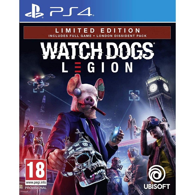 Ps4 New Games 2020.Details About Pre Order 6 March 2020 Watch Dogs Legion Limited Edition Playstation 4 Ps4