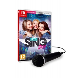 LET'S SING 2018 + 1 MICROFONO nuovo Nintendo Switch