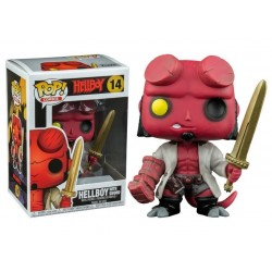 FUNKO POP! Hellboy con spada - Comics HELL BOY 14 Action Figure