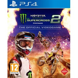 THE OFFICIAL MONSTER ENERGY SUPERCROSS Playstation 4 PS4