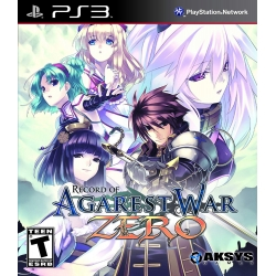 AGAREST ZERO GENERATIONS OF WAR Collector's Edition Playstation 3 PS3