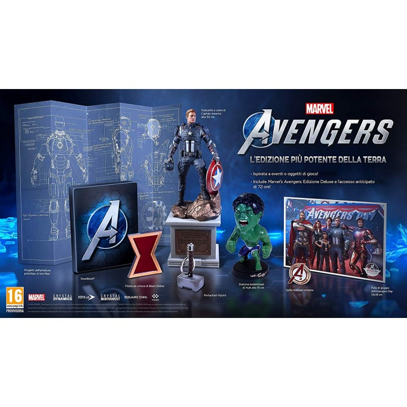 Preordine 1 settembre 2020 - MARVEL'S AVENGERS DELUXE EDITIONPlaystation 4 PS4