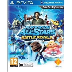 PLAYSTATION ALL STARS BATTLE ROYALE per Sony PSVITA garantito italiano PS Vita