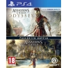 ASSASSIN'S CREED ODYSSEY + ORIGINS Playstation 4 PS4 nuovo italiano