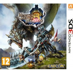 MONSTER HUNTER 3 ULTIMATE per Nintendo 3DS 3DSXL 2DS Usato Garantito