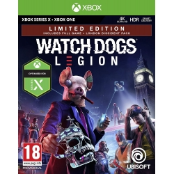 Preordine 29 ottobre 2020 - WATCH DOGS LEGION LIMITED ED. Xbox One