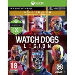 Preordine 29 ottobre 2020 - WATCH DOGS LEGION GOLD EDITION Xbox One