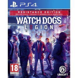 Preordine 29 ottobre 2020 - WATCH DOGS LEGION LIMITED ED. Playstation 4 PS4