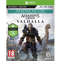 Preordine 10 novembre 2020 - ASSASSIN'S CREED VALHALLA DRAKKAR EDITION Xbox One