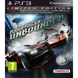 RIDGE RACER UNBOUNDED per Playstation 3 PS3 Usato Garantito italiano