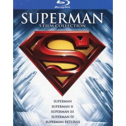 SUPERMAN Anthology cofanetto 5 BLURAY nuovo collezione blu-ray super man