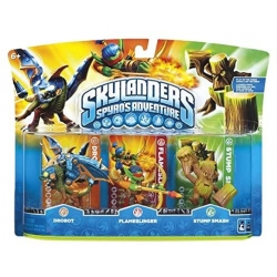 TRIPLE PACK per Skylanders GIANTS Drobot + Eruptor + Prism Break