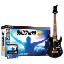 GUITAR HERO LIVE bundle con CHITARRA per Playstation 3 PS3 nuovo italiano