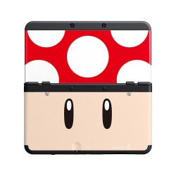 COVERPLATE decorativa skin per New Nintendo 3DS Mario - Fungo