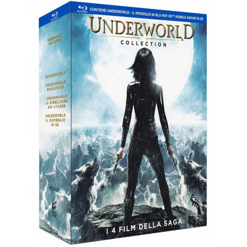 UNDERWORLD collection tutta la saga 4 film nuovo cofanetto BLURAY