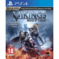 Preordine 31 marzo VIKINGS WOLVES OF MIDGARD nuovo per Playstation 4 PS4 italiano