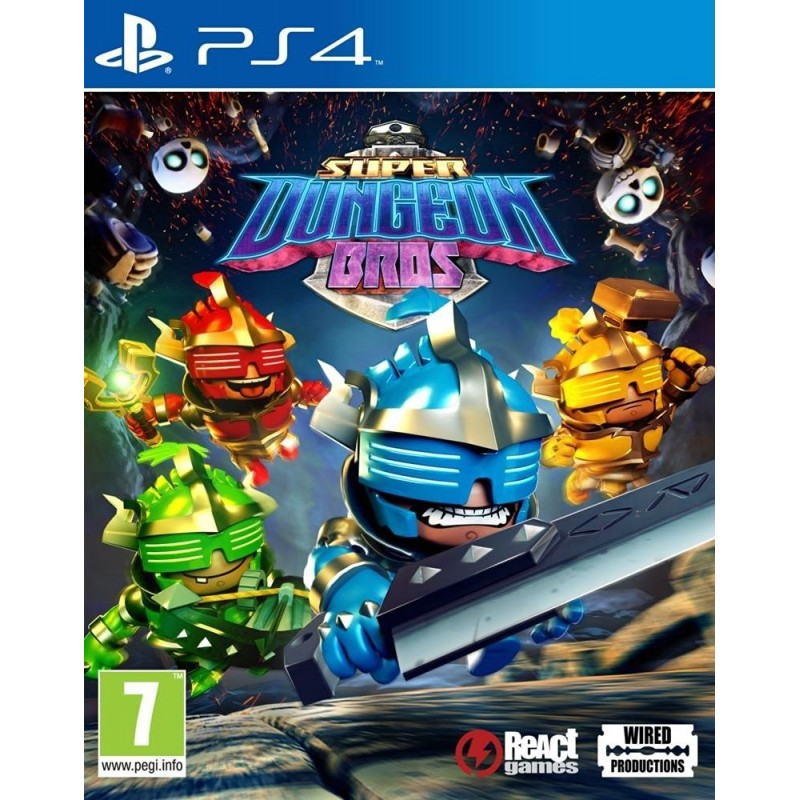 SUPER DUNGEON BROS per Sony Playstation 4 PS4 nuovo