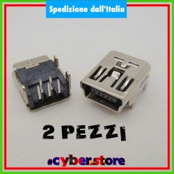 (2 pezzi) Porta CONNETTORE Alimentazione USB controller PS3 Playstation 3 socket