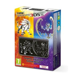 Console NEW NINTENDO 3DS XL Limited Edition POKEMON SOLE e LUNE nuova 3DSXL