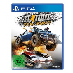 FLATOUT 4 TOTAL INSANITY nuovo per PS4 Playstation 4