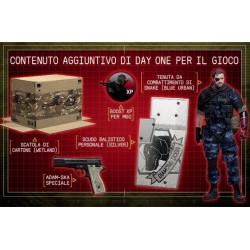 Contenuto DLC DAY1 per METAL GEAR PHANTOM PAIN per Phantom Pain XBOX ONE xboxone
