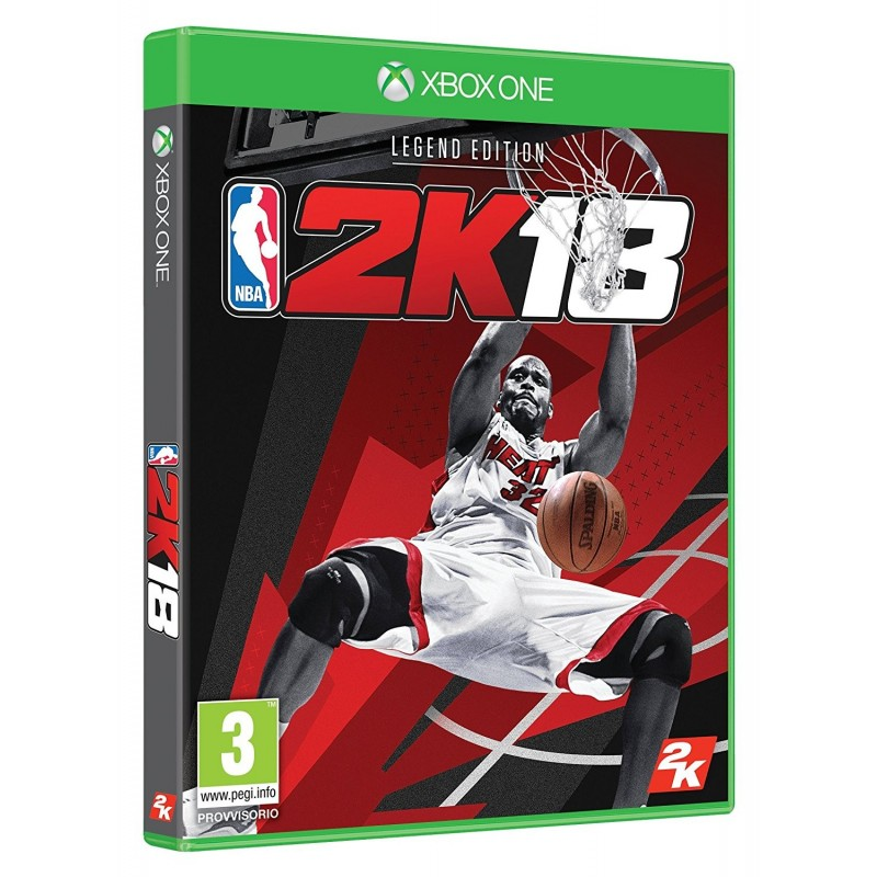 Preordine 15 settembre 2017 NBA 2K18 LEGEND SPECIAL LIMITED Xbox One xobxone